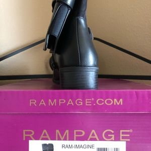 Rampage Shoes - Rampage calf boot size 8m